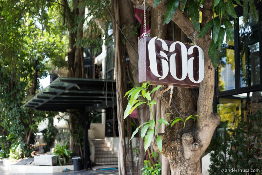 Restaurant Gaa is located directly opposite of Gaggan