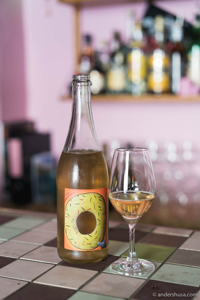 Natural cider from Solhøi and Brutus
