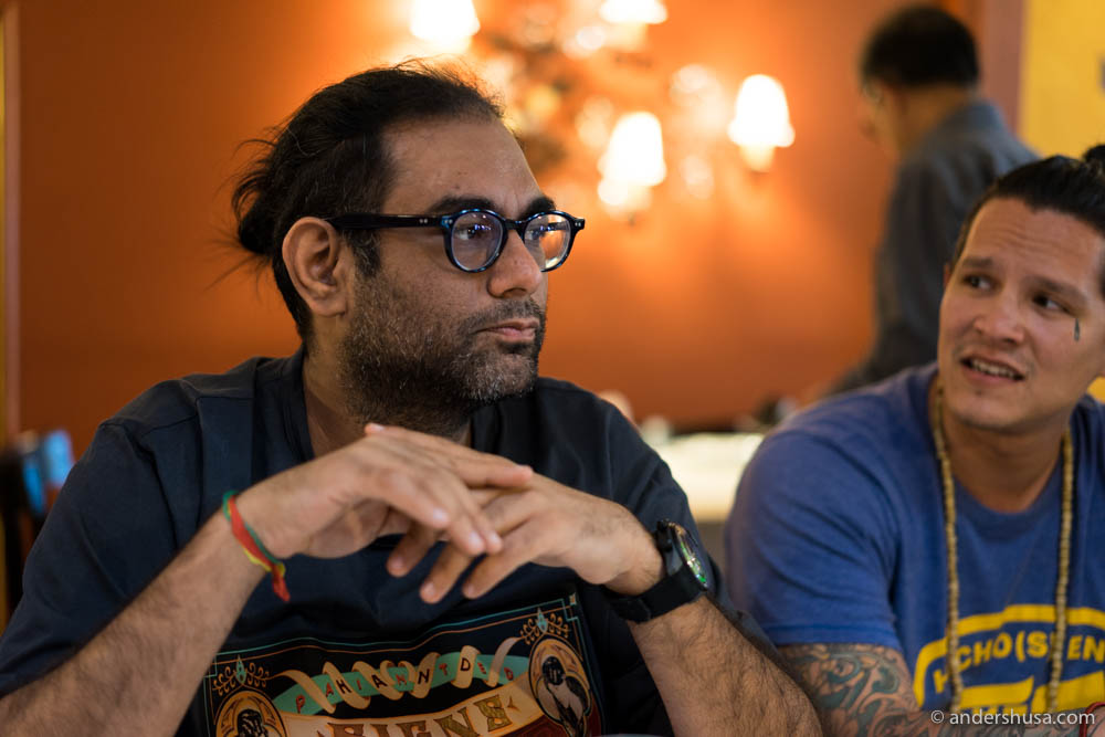 Gaggan and Albert Mayr