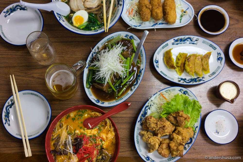 Next time – order ramen first!