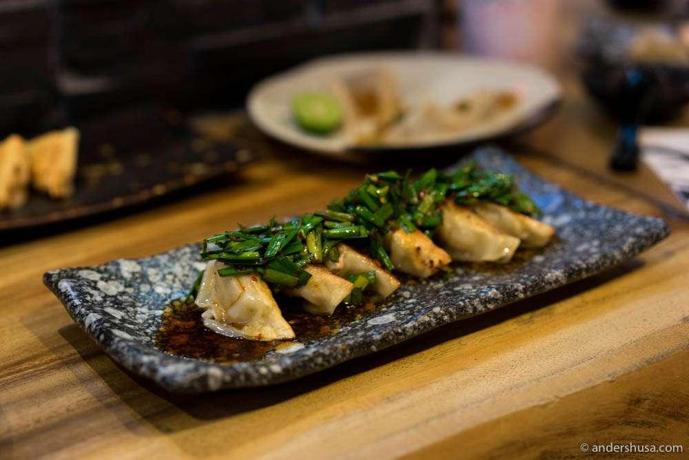 Spicy Kurobuta Gyoza