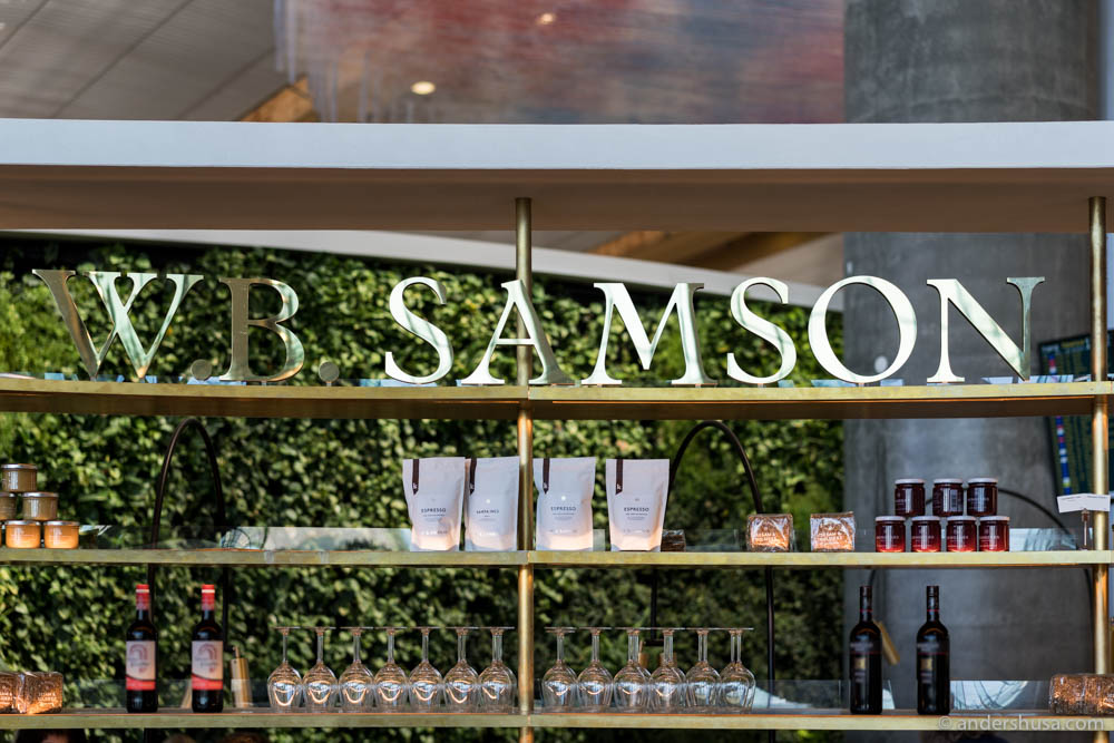 W.B. Samson has three bakeries at Oslo Airport
