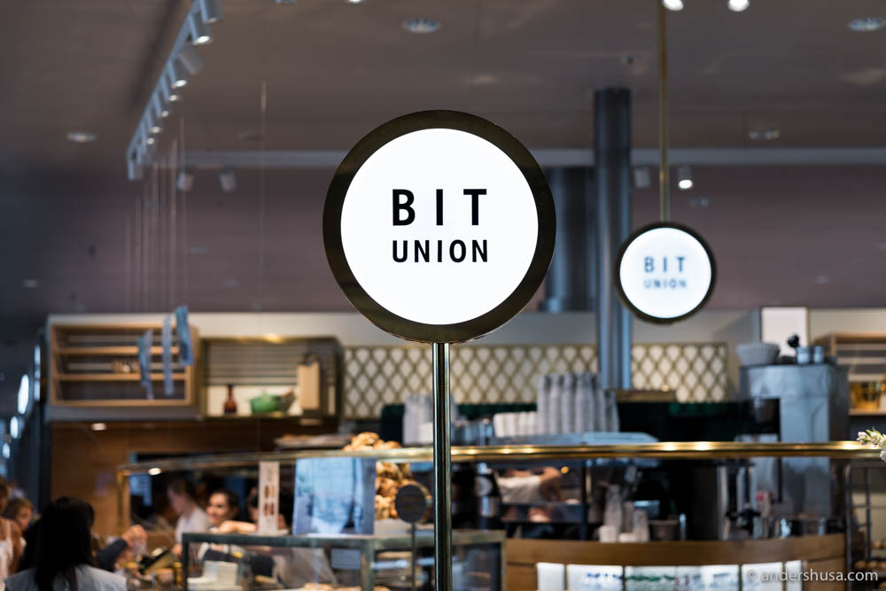 BIT Union has a bakery, sandwich shop, and salad bar at Oslo Airport