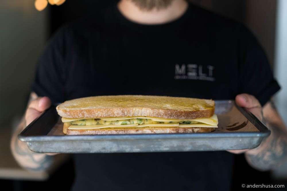 The perfect breakfast toast?