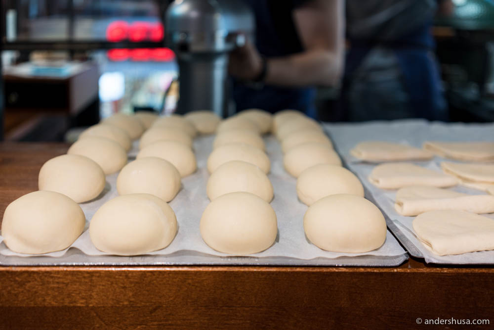 At Baojaam they make their own baos