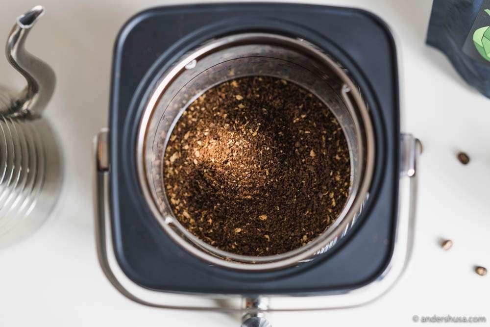 60 grams of coffee per 1 liter of water