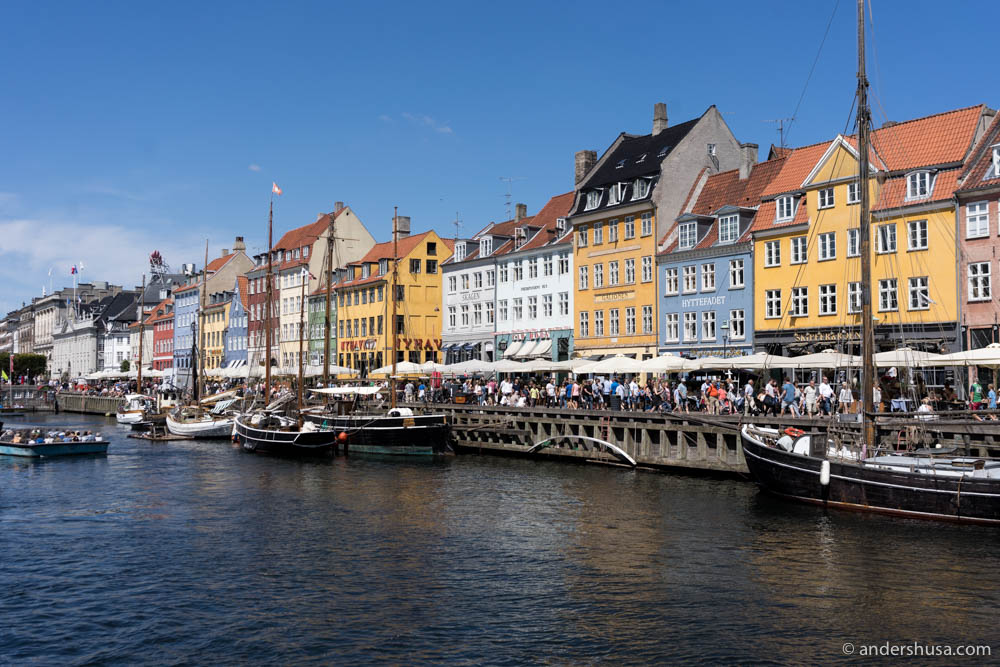 All restaurants are close to Nyhavn