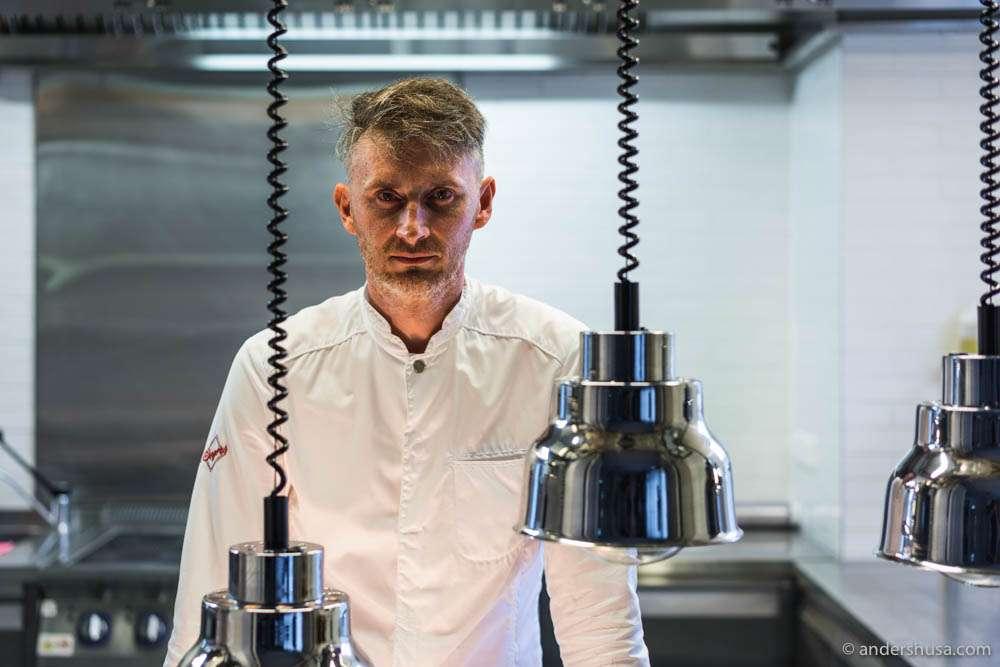 Head chef Vladislav Djatsuk