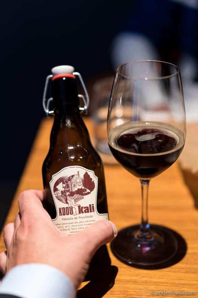 Pääsküla KODU kali – a black bread brew