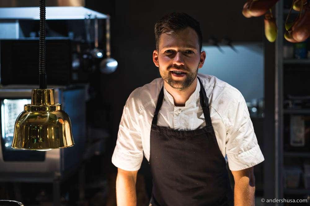 Head chef Margo Paluoja