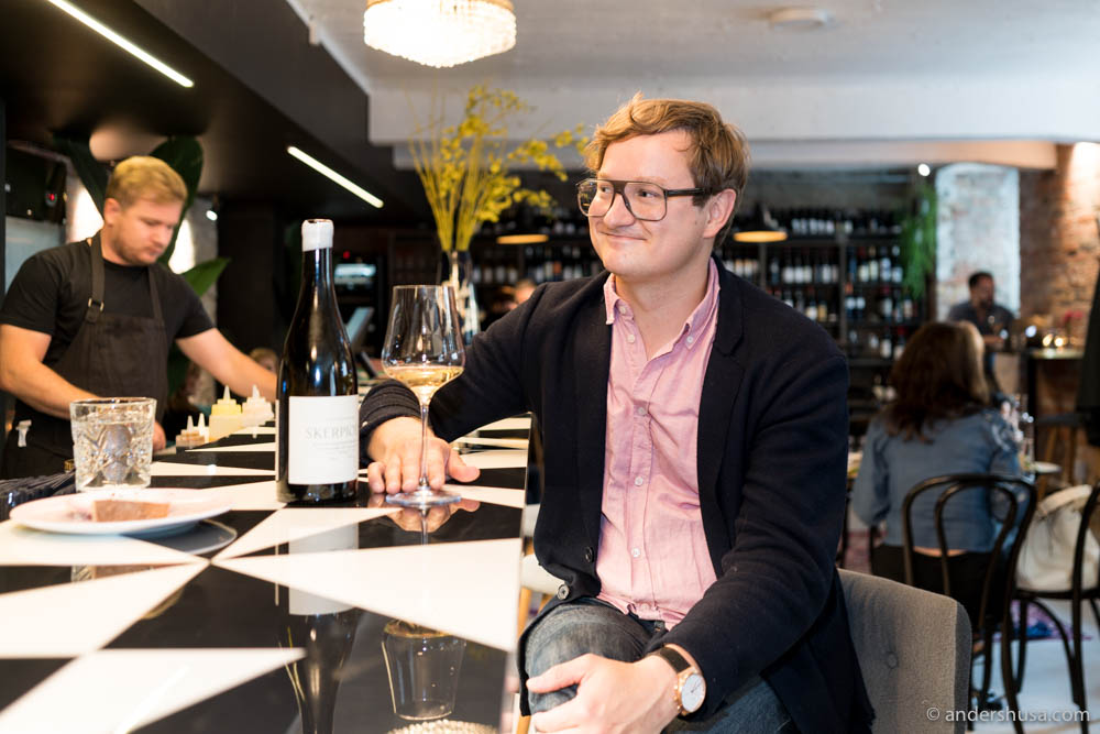 Owner and sommelier Kristjan Peäske