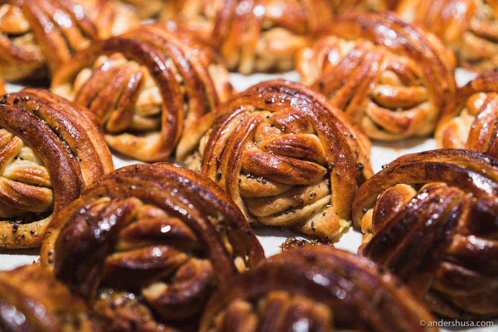 The cardamom buns at Røst