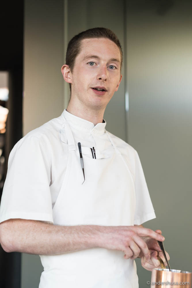 Maaemo's head chef Halaigh Whelan-McManus.