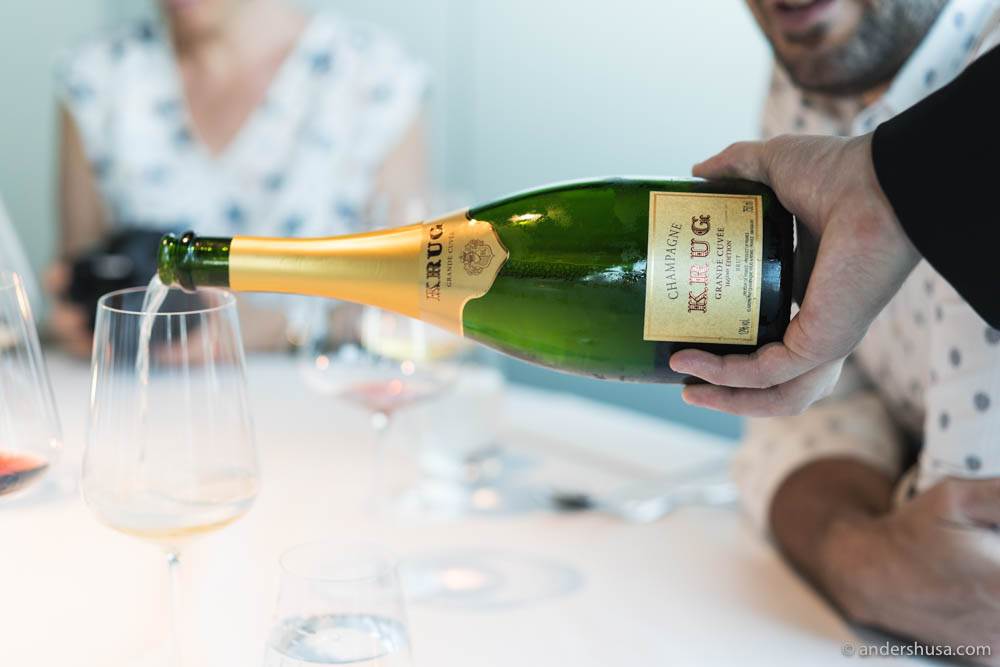Time for Krug Champagne – Grand Cuvée 166éme Édition