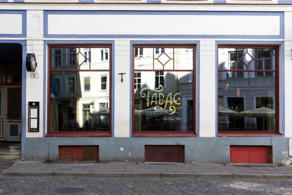 Tabac Brasserie & Bar in Tallinn