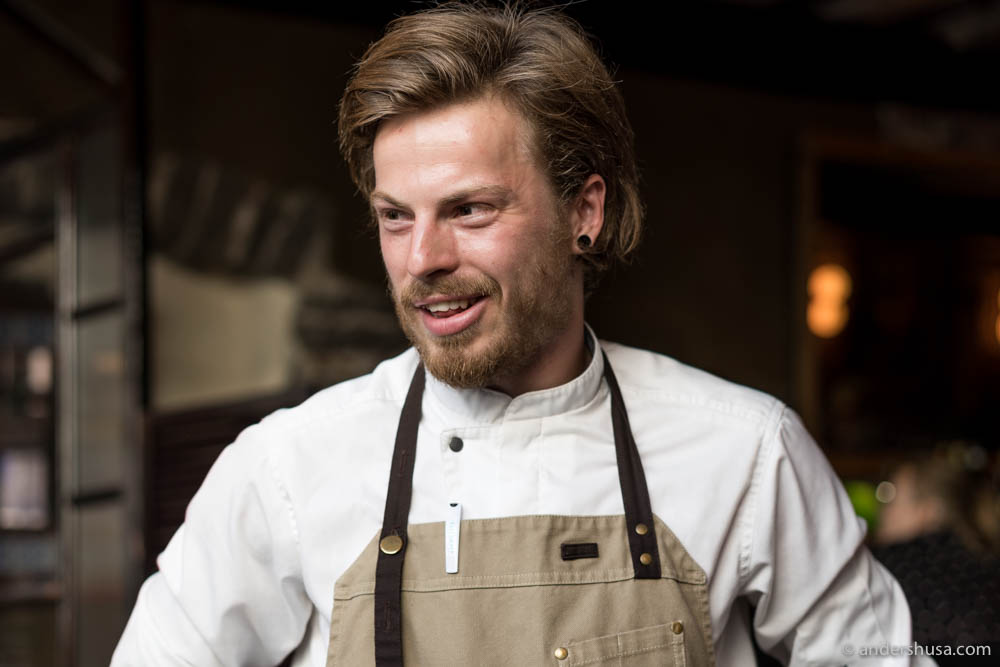 Head chef at Tuljak – Tõnis Saar