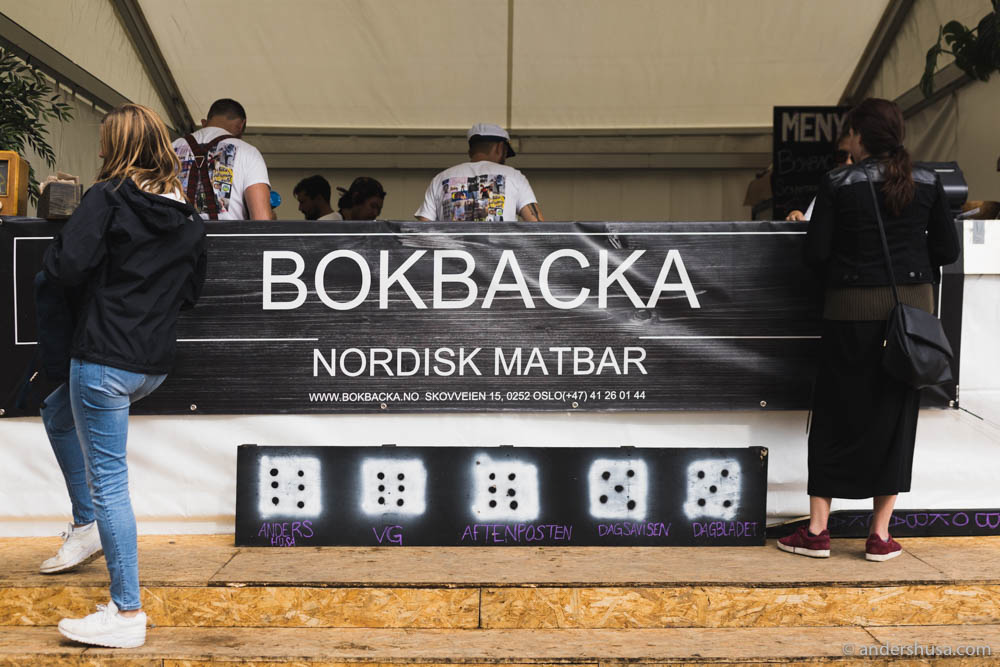 Bokbacka got great scores from most publications. Foodie Stories by Anders Husa was the first!