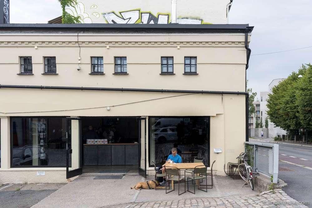 Fuglen Coffee Roasters on St. Halvards gate