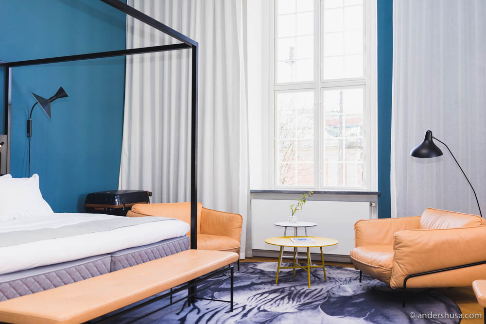 Junior Suite at Nobis Hotel in Copenhagen