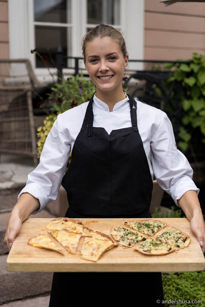 Chef Runa Kvendseth at restaurant Park 29