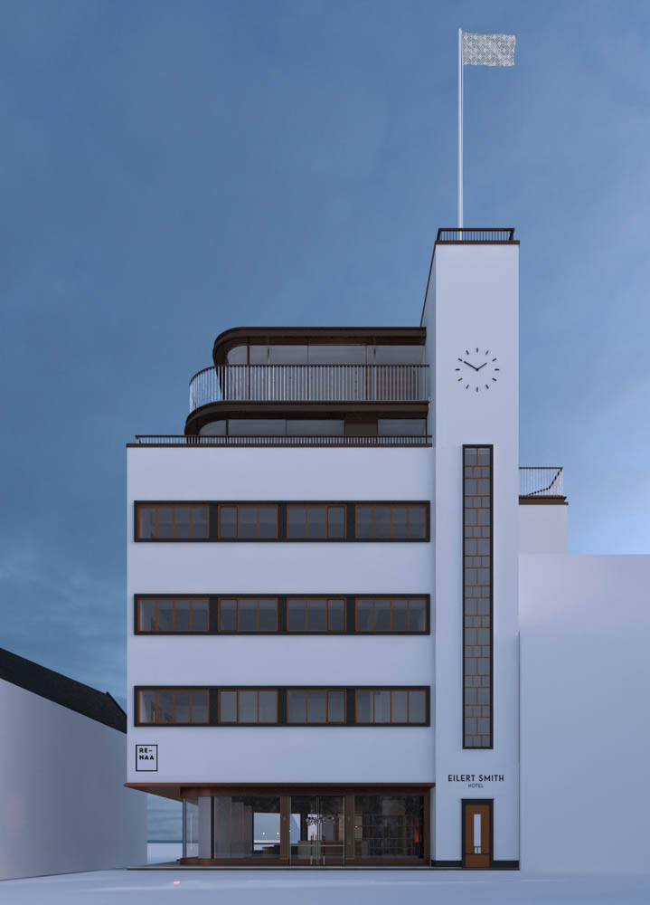 The new Eilert Smith Hotel and home of Re-naa in 2019. Photo: Re-naa