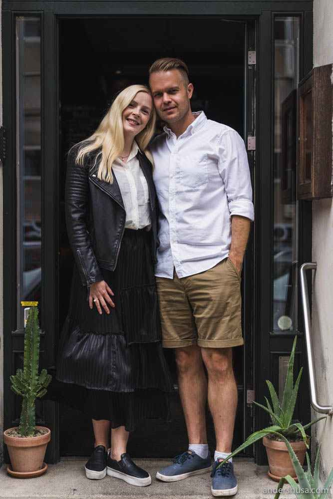 My most loyal food tour participants – Kristina & Anders