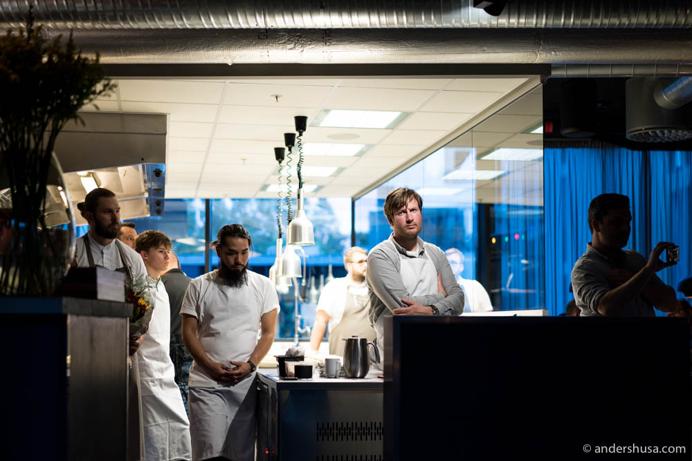 Some of Scandinavia's best chefs were gathered to cook for Karla Siverts