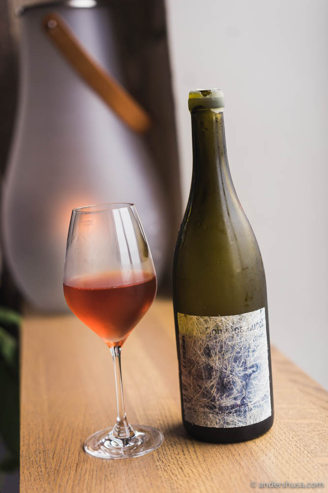 Natural wine from one of my favorite producers – Lucy Margaux from Adelaide Hills in Australia