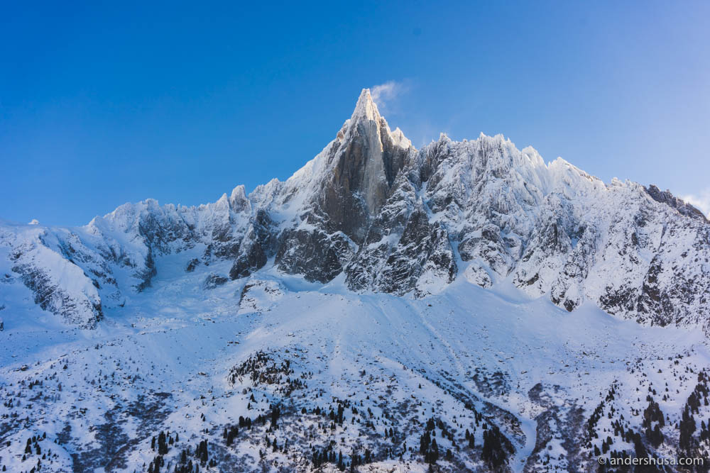 Aiguille du Dru – the needle mountain