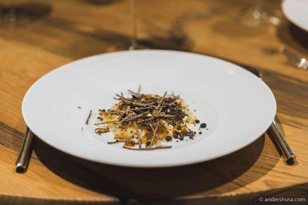 Artichoke & black truffle