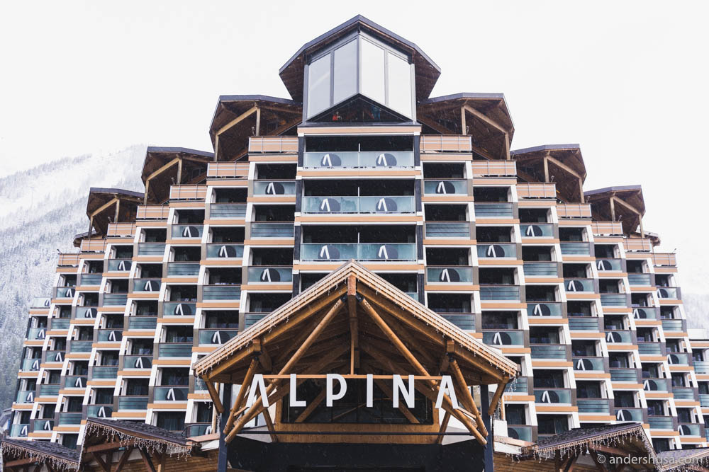 Alpina Hotel in Chamonix