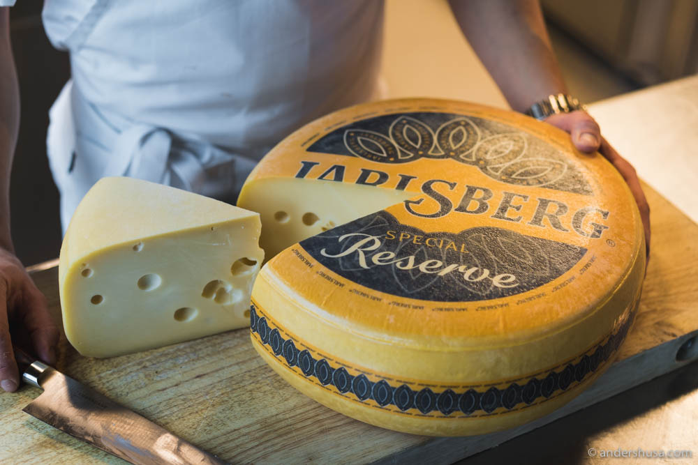 Jarlsberg® Special Reserve is aged for at least 12 months