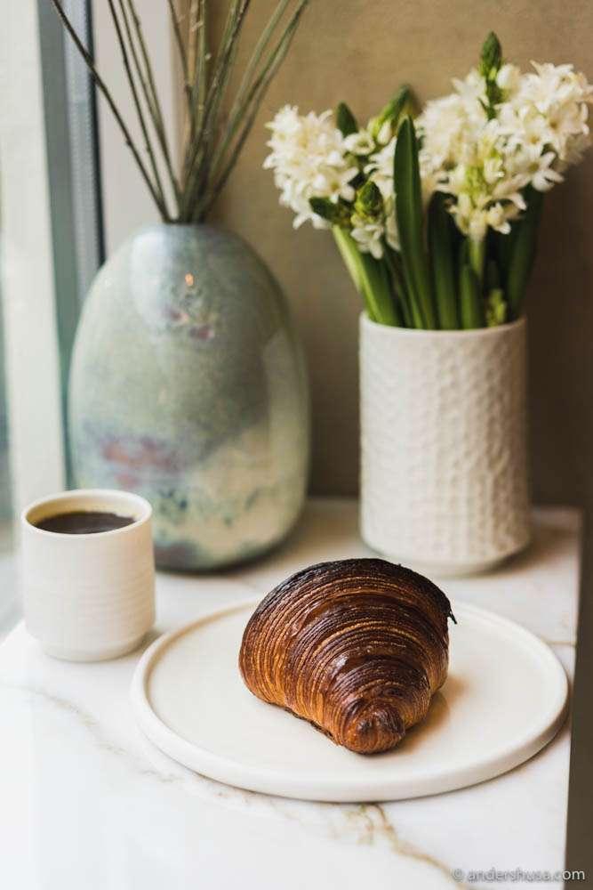 Juno's perfected croissant