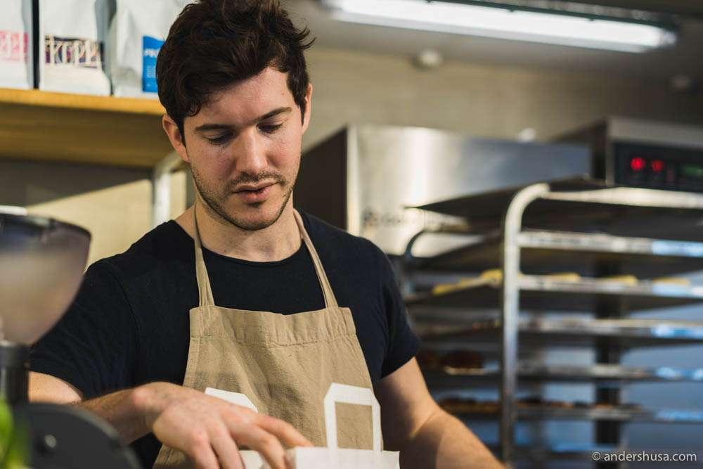 Emil Glaser at Juno the Bakery
