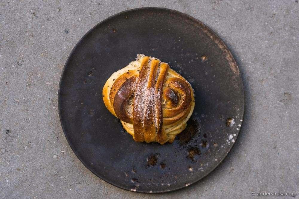 The world's best cardamom bun!