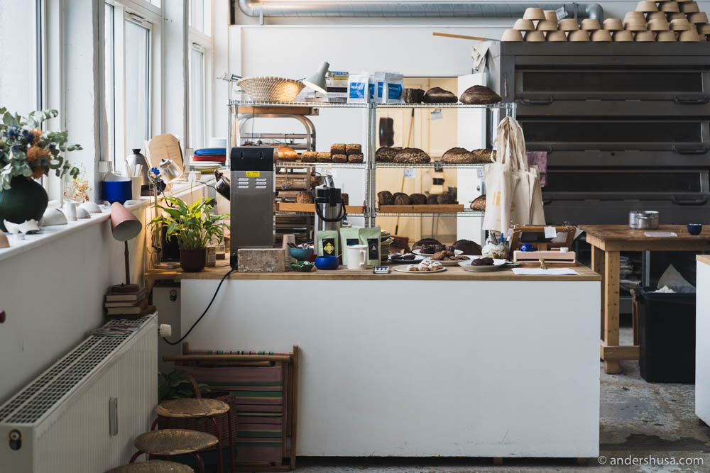 Lille Bakery in Copenhagen