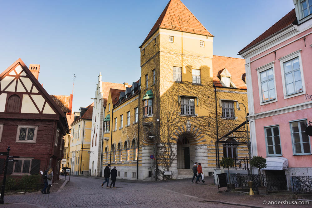 Back in Visby, Gotland