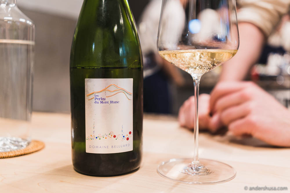 Domaine Belluard, Les Perles du Mont Blanc – what a beautiful name for a wine