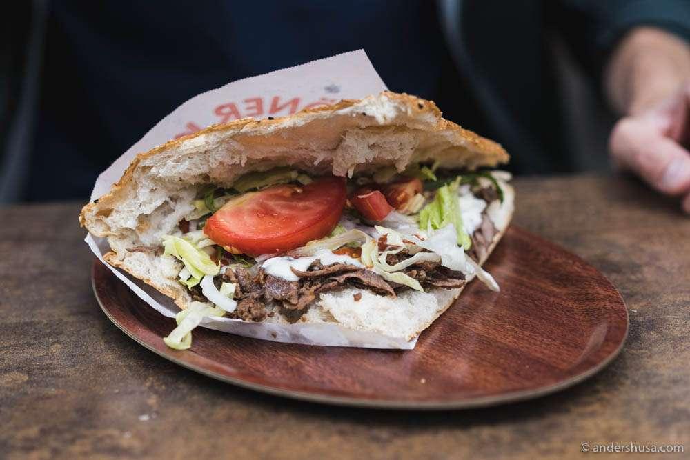 Behold, the best Döner kebab in Berlin