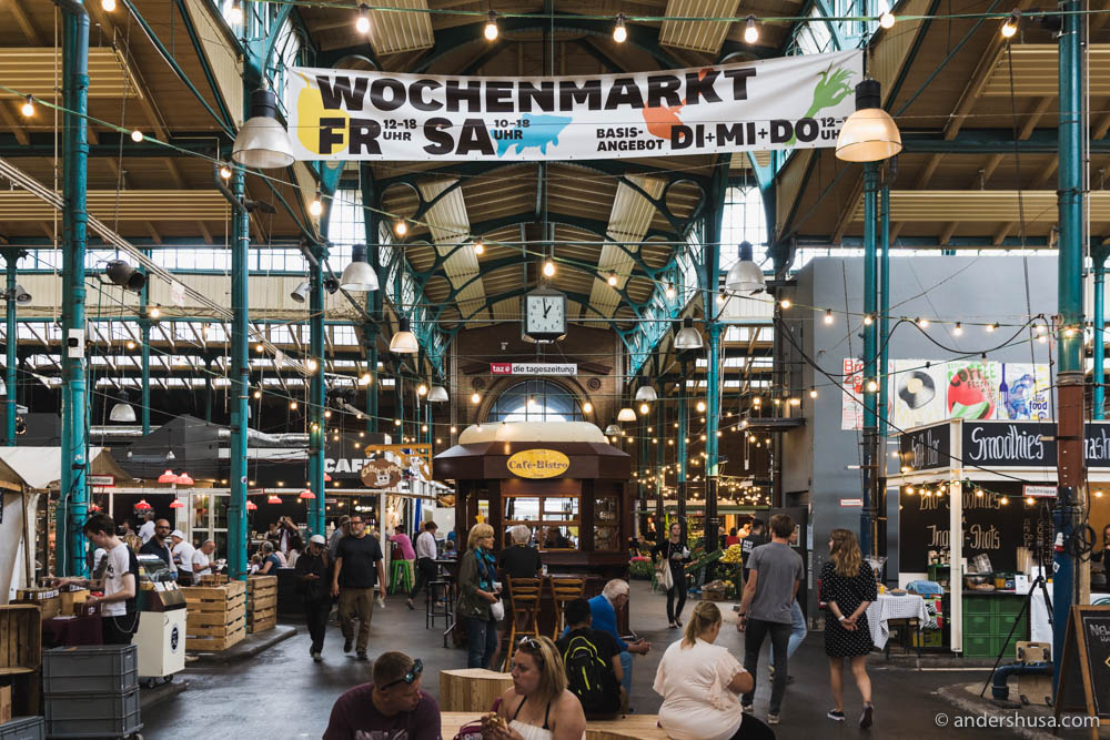 Markthalle Neun in Berlin