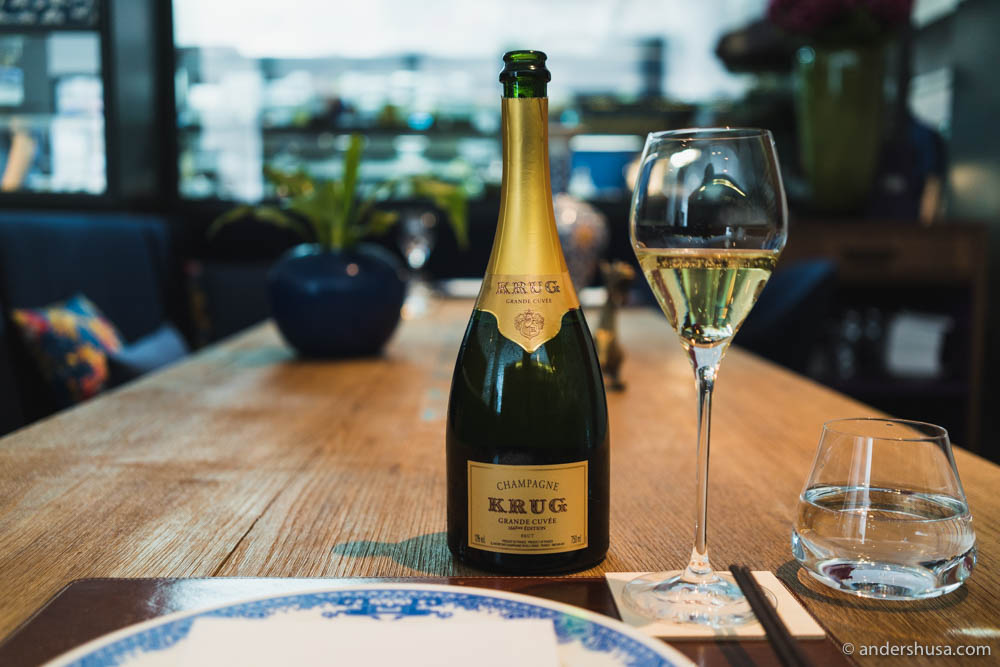 The Krug table