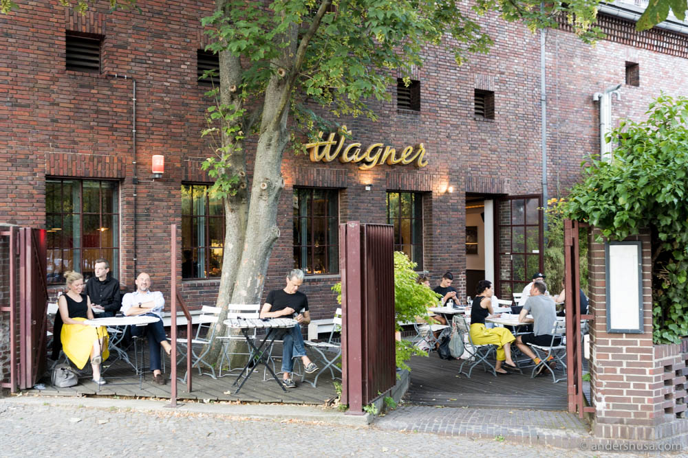 Wagner Cocktail Bistro in Berlin
