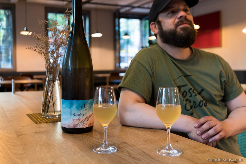 Don't get fooled by the name – this place has a lot of natural wines too!