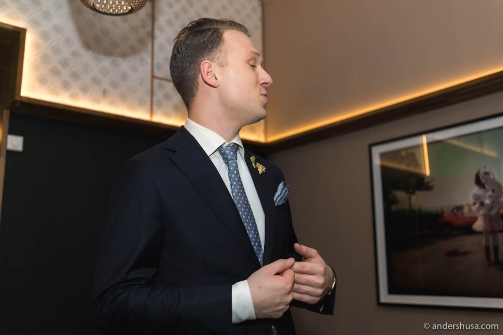 Award-winning sommelier Kristoffer Aga