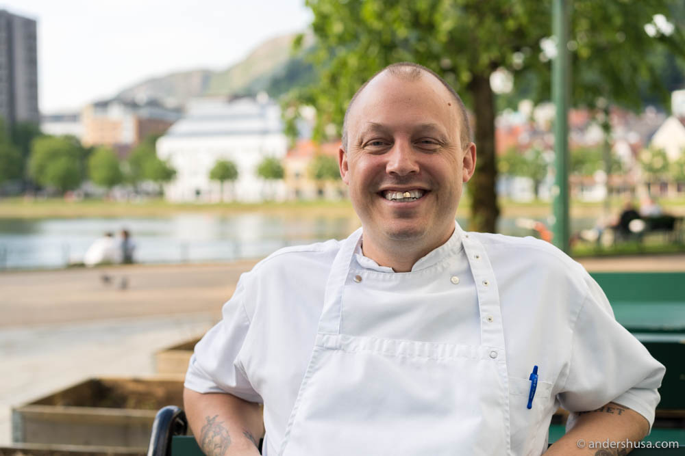 The passionate and outspoken chef Christopher Haatuft