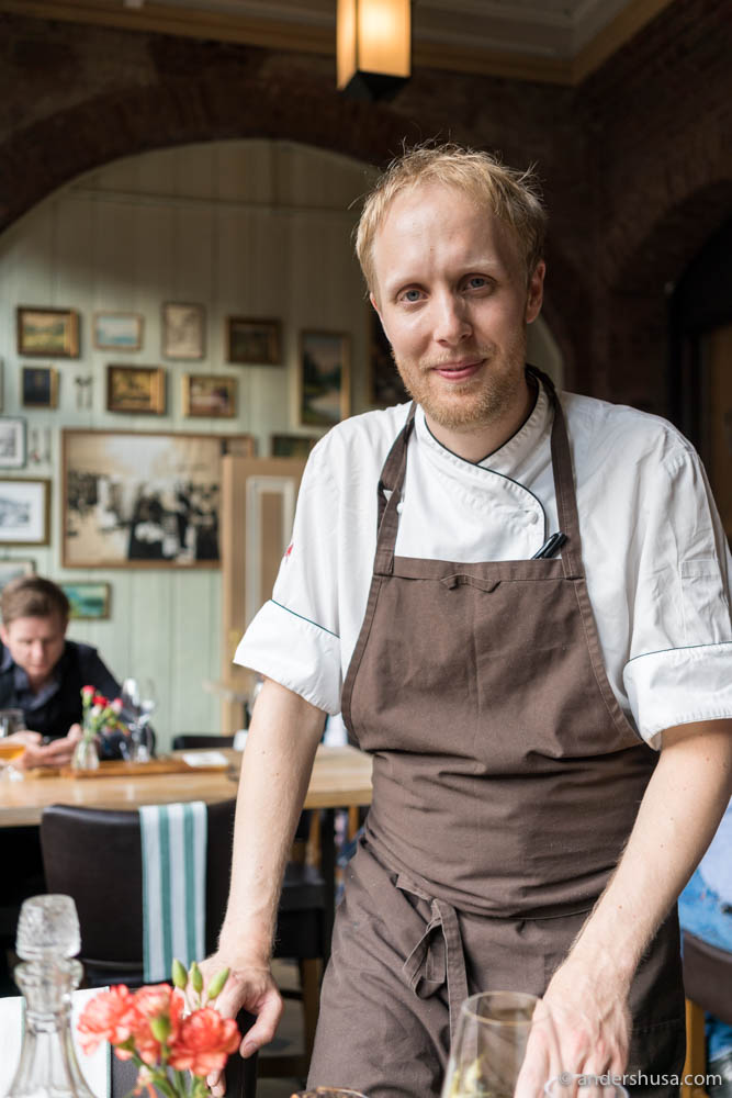 Head chef Christer Økland