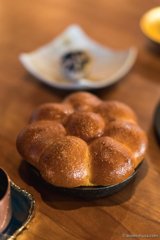 Perfect brioche buns to soak up the sauce of the main course