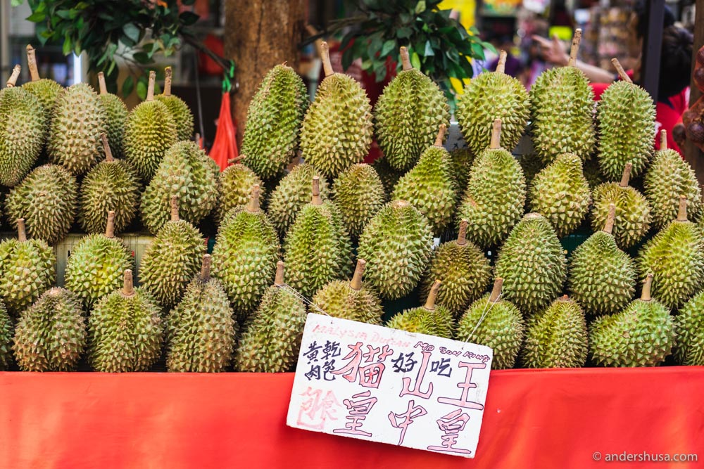 Durian – the king of fruits!