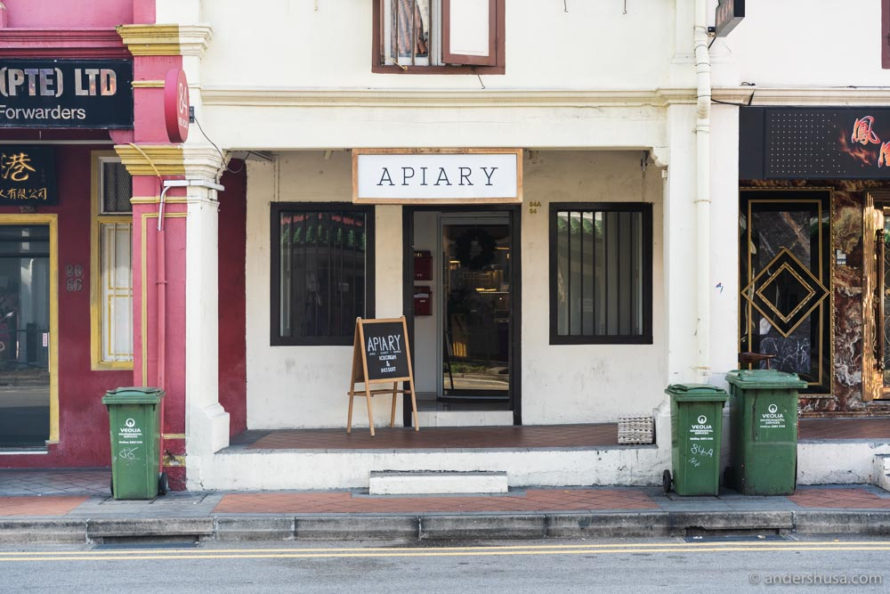 Apiary in Chinatown makes the best ice cream in Singapore
