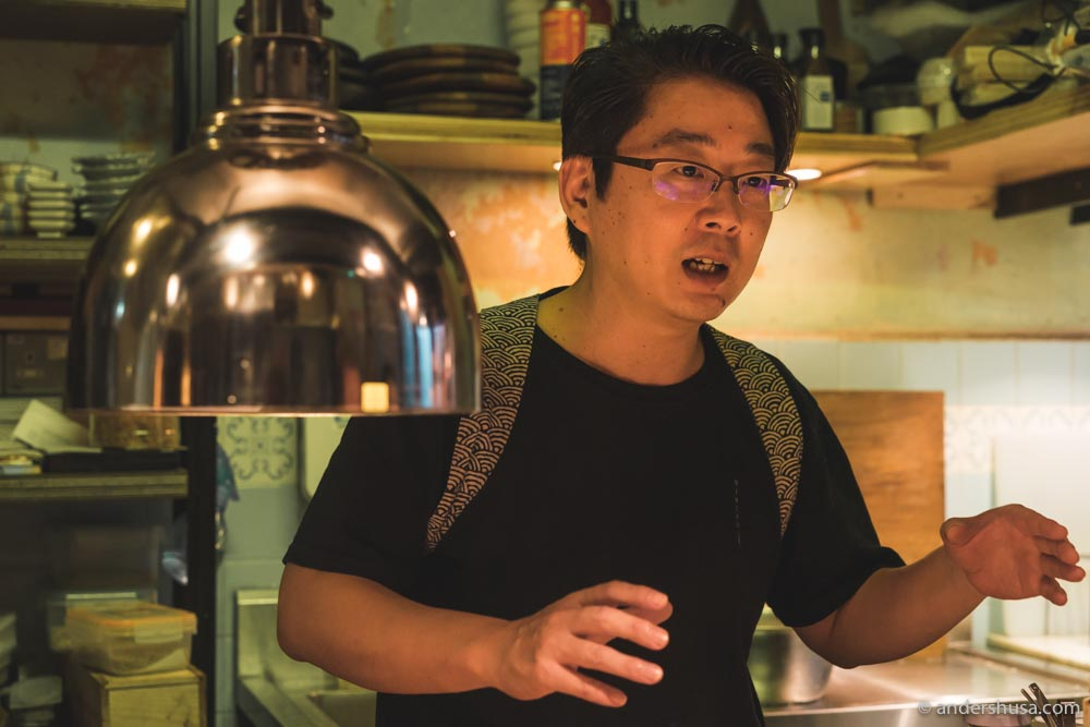 Chef Asai Masashi. Book the chef counter if you can!